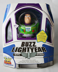 TOY STORY COLLECTION BUZZ LIGHTYEAR REPLICA FIGURE GREEK THINKWAY NEW SEALED !