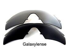 GALAXY Ricambio Lenti Oakley M Frame Strike Nero e titanio polarizzati 2 paia