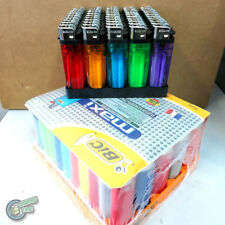 100 Lighter (50 SUNDANCE + 50 Large BIC Maxi Big) Cigarette Tobacco Disposable