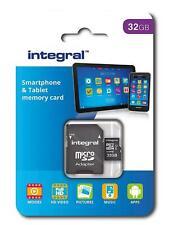 Integral 32 GB microSDHC Class 10 Memory Card for Smartphones FAST Micro SD NEW