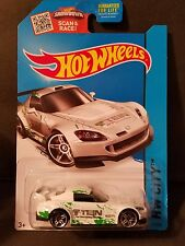 2015 Hot Wheels #17 - HW City - Honda S2000 - White w/Chrome Rims