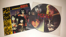 Kiss: (alive 2) 12'' picture disc w/booklet (kiss army mexico)
