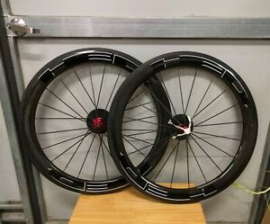 New OEM Carbon Clincher Wheel Set Rims Pair Cycling Bicycle 630mm
