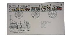 GB FDC 1980 LIVERPOOL & MANCHESTER RAILWAY POST OFFICE COVER