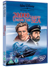 20,000 LEAGUES UNDER THE SEA Official Disney KIRK DOUGLAS - NEW DVD Gift Idea