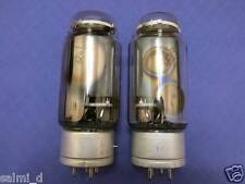 gm-70 / 845 hi-end power triode (grafite plate) tube. lot of 2 nos 1970