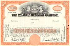 Atlantic Refining Company > 1960s Pennsylvania stock certificates share