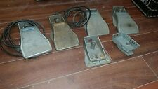 PARTS ONLY AS IS Foredom Type SC FOOT PEDAL BODY (LOT OF 4) AS IS FOR PARTS ONLY