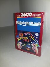 NEW SEALED BOX W/TEAR MIDNIGHT MAGIC PINBALL GAME FOR ATARI 2600 USA NTSC   E16