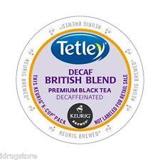 Tetley Tea British Blend Decaf Tea Keurig K-Cups 96-Count