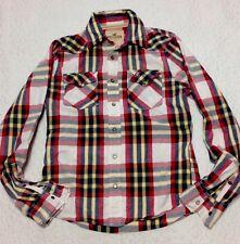 Cotton Blend Plaids & Checks Western Casual Shirts for Men
