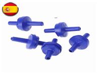 2x Válvula antiretorno acuario tubo aire compresor co2 Oxigenador bomba difusor