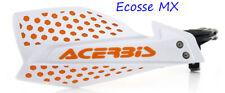 NEW ACERBIS X-ULTIMATE WHITE/ORANGE HANDGUARDS KTM SXF450 SXF501