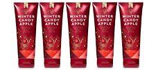 Bath & Body Works Winter Candy Apple Shea Body Cream 5 Pack
