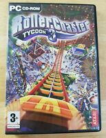 RollerCoaster Tycoon 3 PC Video Game Construction Building Management