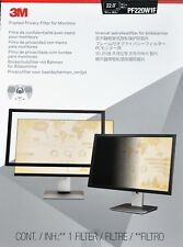 """3M PF220W1F Framed Privacy Filter for 22"""" Widescreen Monitor (16:10)"""