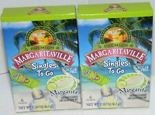 (2 Box Lot) Margaritaville Singles To Go Sugar Free Drink Mix 12 Packets NEW