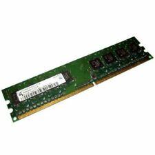 1 go (2x512Mo) Memoire DDR2 PC2-3200U 400Mhz HYS64T64000eU