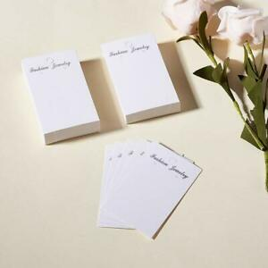 100Pcs Paper Earring Display Cards Jewelry Display Tags for Earrings Ear Studs