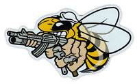 Magnetic Bumper Sticker - United States Navy Seabees - Construction Battalion CB