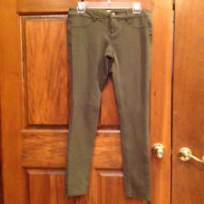 Mossimo Jeggings Size 7 Olive Low Rise