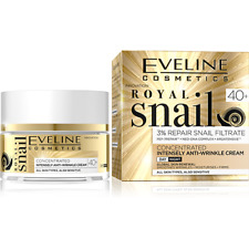 Eveline Royal Snail Concentrated Anti - Wrinkle Face Cream Day / Night 50ml