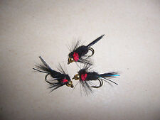 Goldhead STD RED Torace Montana Taglia 10 + ATTRACTOR by salmoflies pesca Mosche