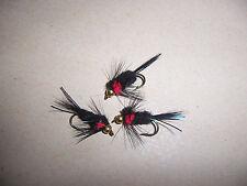 Goldhead STD RED Torace Montana Taglia 10 + ATTRACTOR by salmoflies pesca Mosche