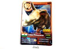 Animal Kaiser Evolution Evo Version Ver 7 Bronze Card (A032: Indian Rhinoceros)
