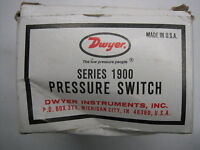 New Dwyer Series 1900 Pressure Switch