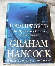 2002 First Edition UNDERWORLD Mysterious Origins of Civilization Graham Hancock