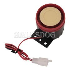 Hot Sale Universal 6 Six Tone Siren Horn For Motorcycle Bike Alarms DC12V 125dB