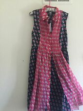 "DVF   Nieves silk chiffon dress ""4"" new with  tags!!!"