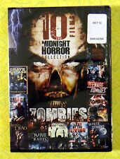 Midnight Horror Collection: Zombies (DVD, 2012, 2-Disc Set)  New Sealed ~ Horror