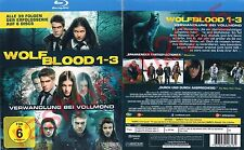 Blu-Ray WOLFBLOOD TV SERIES SEASON 1+2+3 BOX 39 EPISODES Bobby Lockwood Region B