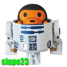 Medicom x A Bathing Ape Baby Milo x Star Wars R2-D2 VCD Vinyl Figure