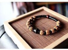 Himalayan Rudraksha Bracelet in Velvet Pouch/FREE P&P/UK Stock