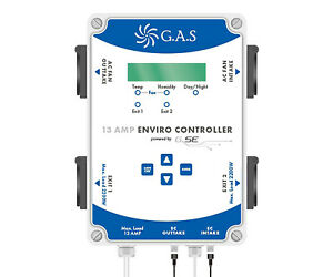 GAS Enviro Controller Full Environment Control Temperature Humidity Grow Room