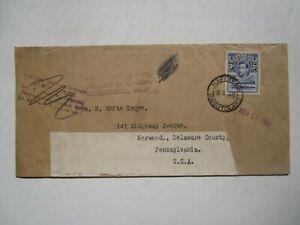 1940 BASUTOLAND COVER to USA