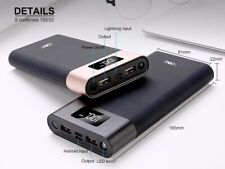 Power Bank 40000mah LED LCD USB Battery Charger For iPhone Samsung & All Phone