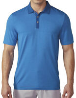 🔥 adidas Men's Golf Climacool Primeknit Polo Shirt Blue Large NWT FAST SHIPPING
