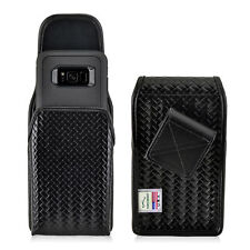 Galaxy S8 Police Pouch Belt Clip Case Basketweave Otterbox Leather Turtleback