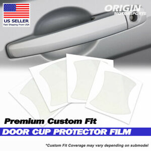 Anti Scratch Door Handle Cup Protector Cover for 2020-2022 Audi A4