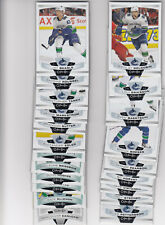 19/20 OPC Vancouver Canucks Team Set with RCs and Insert - Boeser Hughes RC +