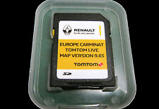 2017 TomTom CARMINAT LIVE Renault SD Card EUROPE Map UK BRITAIN IRELAND FRANCE