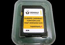 9.85 2018 TomTom Carminat Renault en vivo Tarjeta SD mapa de Europa Reino Unido GB Irlanda Francia