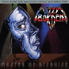 """LIZZY BORDEN """"MASTER OF DISGUISE"""" CD+2 DVD NEW!"""