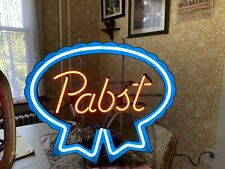 A Vintage Gas Tube Sign Neon Pabst Beer Advertising