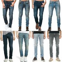 Nudie Herren Slim Tapered Fit Jeans-Hose | Lean Dean |Kleine Fehler |NEU