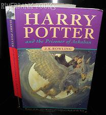 ** Harry Potter & prisoner of Azkaban, J.K Rowling PB, 1999 1ST ED 1st IMP